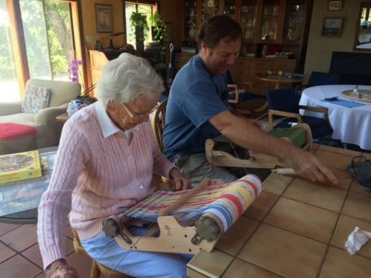Jim & Helen weaving 150dpi