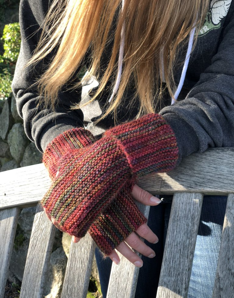 The Long Pure Garter Stitch Mitts - Cat Bordhi's Fingerless Mitts Knitting Patterns provides you with 9 folios and 25 patterns.