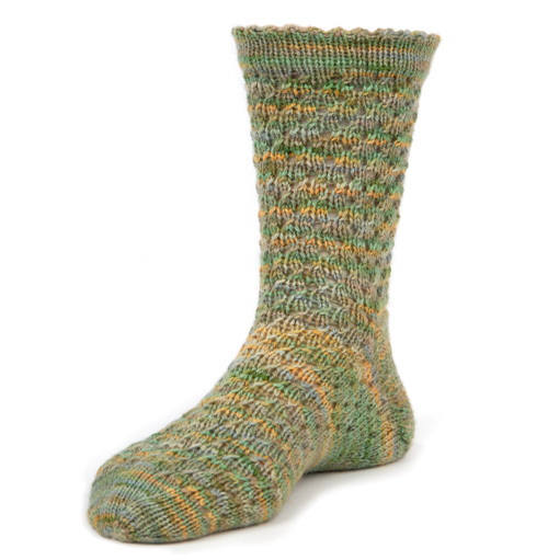 Rushing Rivulet Socks large
