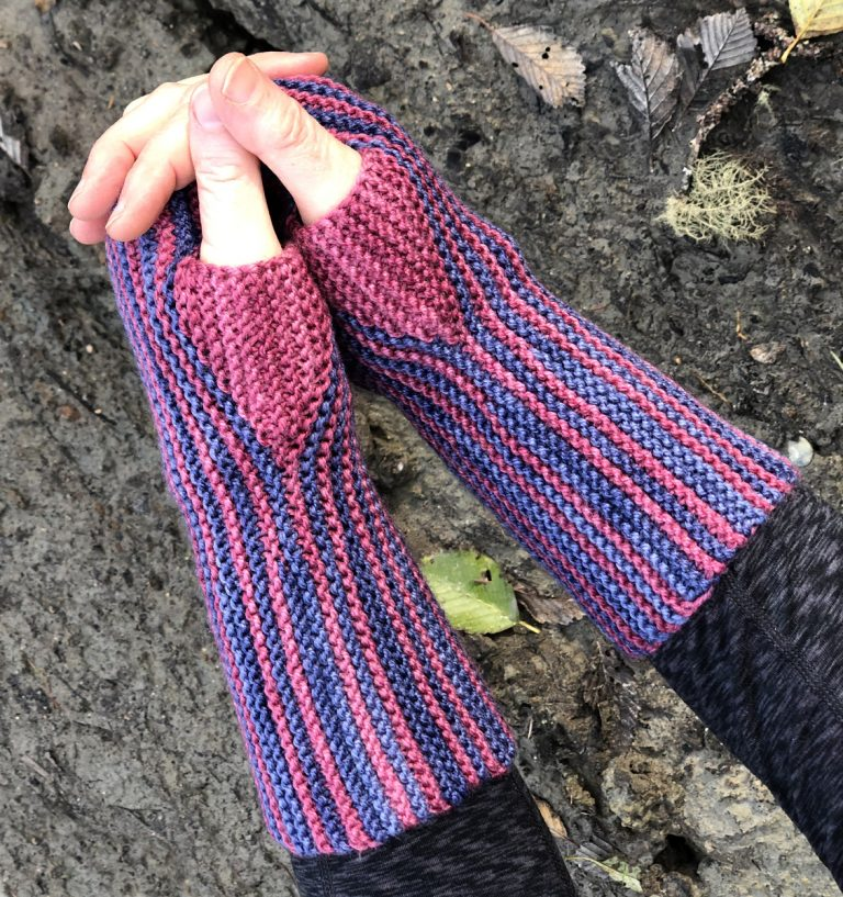 The Striped Garter Stitch Mitts - Cat Bordhi's Fingerless Mitts Knitting Patterns provides you with 9 folios and 25 patterns.
