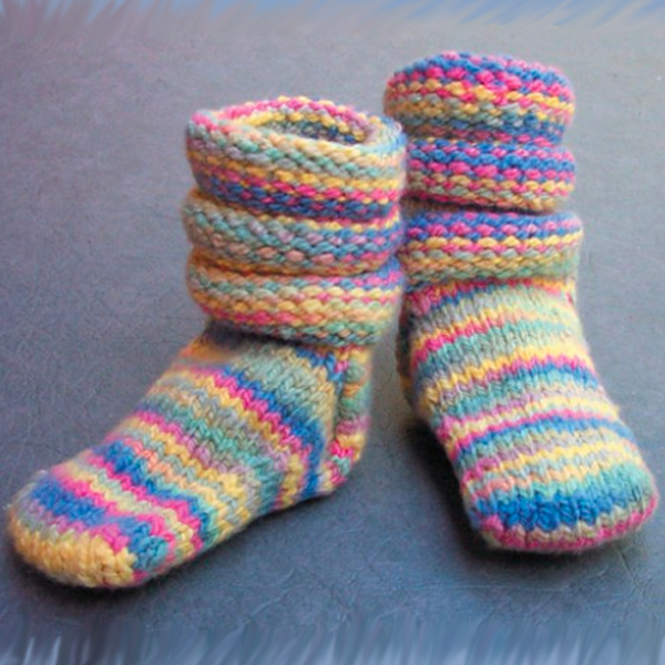 Baby Life Ring Socks - Free sock knitting pattern