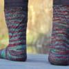 Sweet Coriolis Socks
